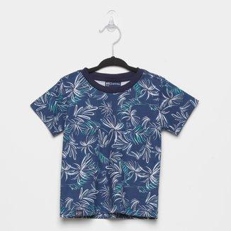 Camiseta Infantil Quimby Folhagens Masculina