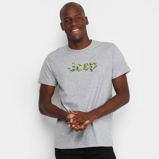Camiseta Jeep Camuflada Masculina