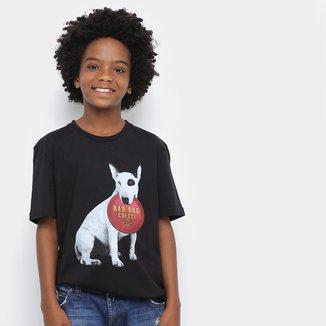 Camiseta Juvenil Colcci Fun Bad Dog Masculina
