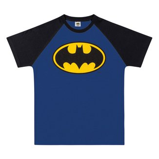 Camiseta Juvenil Fakini Batman Masculina