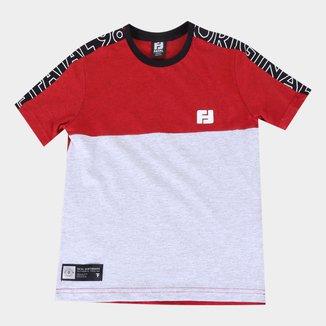 Camiseta Juvenil Fatal Duo Color Masculina