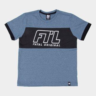Camiseta Juvenil Fatal Original Masculina