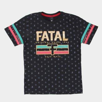 Camiseta Juvenil Fatal Original Seja Mais Masculina