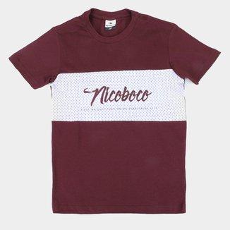 Camiseta Juvenil Nicoboco Blacin B Masculina