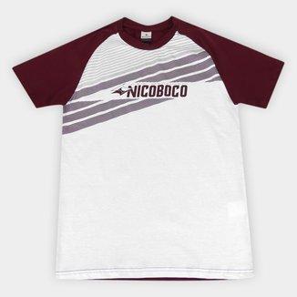 Camiseta Juvenil Nicoboco Raglan Mont Masculina