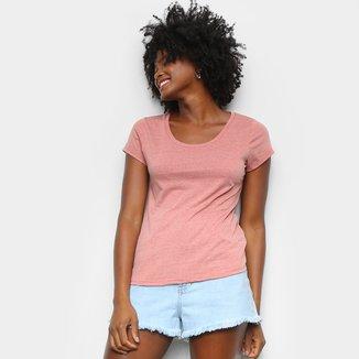 Camiseta Lecimar Básica Feminina