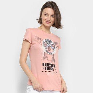 Camiseta Lez Lez Lucha Libre Feminina