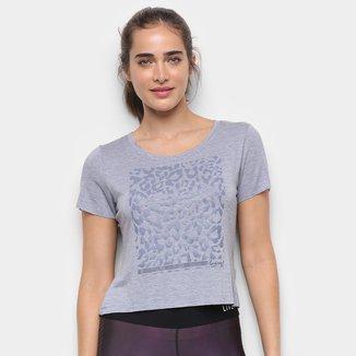 Camiseta Live! Leopard Effect Feminina