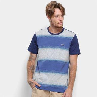 Camiseta Long Island Listrada Masculina