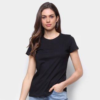 Camiseta Malwee Baby Look Antivirais Feminina