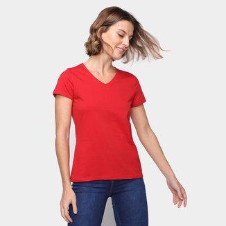 Camiseta Malwee Básica Feminina