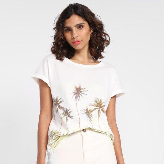 Camiseta Malwee Nature Feminina - Off White