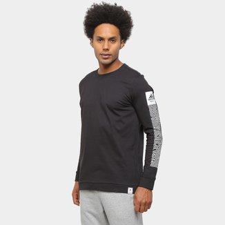 Camiseta Manga Longa Adidas Tko Masculina