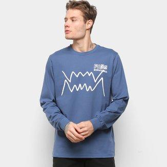 Camiseta Manga Longa Puma Bite LS Masculina