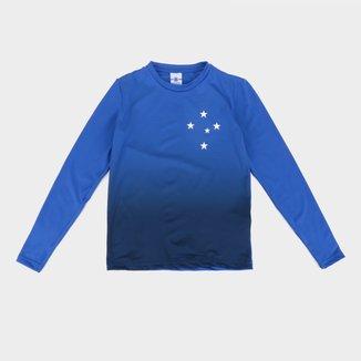 Camiseta Manga Longa Térmica Cruzeiro Juvenil