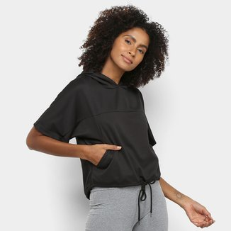 Camiseta Mizuno Lyra Capuz Feminina