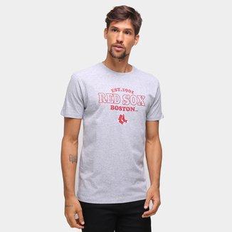 Camiseta MLB Boston Red Sox New Era College Team Masculina
