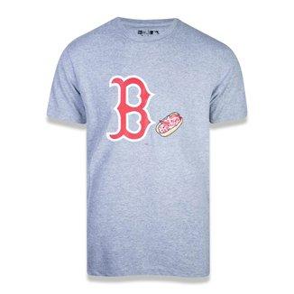 Camiseta MLB Boston Red Sox New Era Core Team Eat Masculina