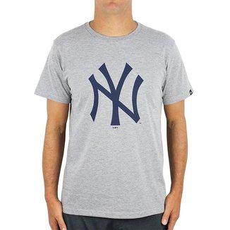 Camiseta MLB New York Yankees New Era Essentials Tri Masculina
