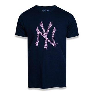 Camiseta MLB New York Yankees New Era Extra Fresh Time Icon Masculina