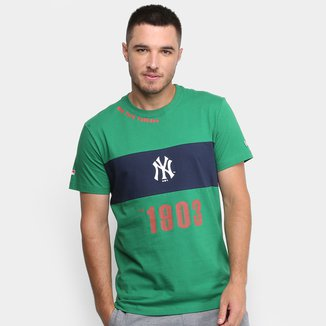 Camiseta MLB New York Yankees New Era Fresh Ribbon Masculina