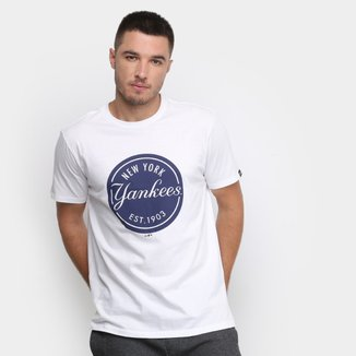 Camiseta MLB New York Yankees New Era MLB Essentials Est 1903 Masculina