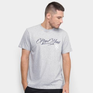 Camiseta MLB New York Yankees New Era Signature Masculina