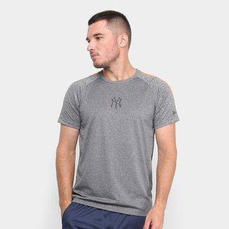 Camiseta MLB New York Yankees New Era Stripes Masculina