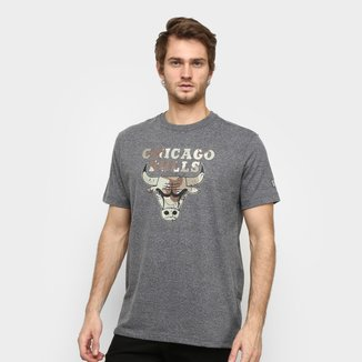 Camiseta NBA Chicago Bulls Desert Box New Era Masculina