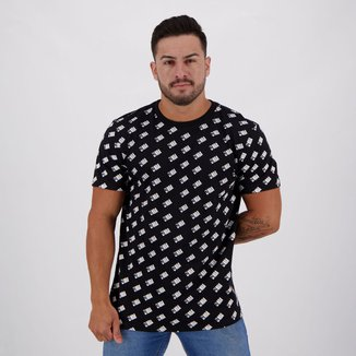 Camiseta NBA Full Print Mini Logo Masculina