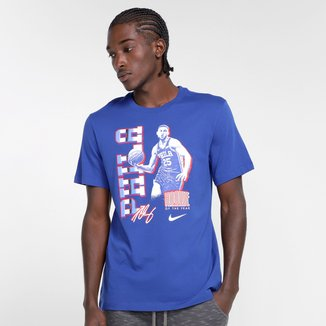 Camiseta NBA Philadelphia 76Ers ROY Bem Simmons Nike Select Series Masculina