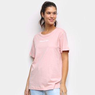 Camiseta New Era Thank You Feminina
