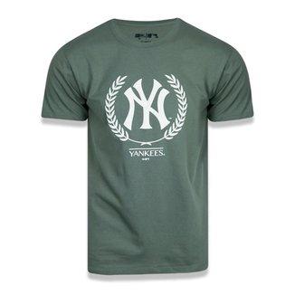 Camiseta New York Yankees New Era Summer Time Crown Masculina