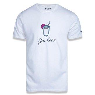 Camiseta New York Yankees New Era Summer Time Drink Masculina