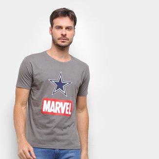 Camiseta NFL Dallas Cowboys  Marvel Masculina