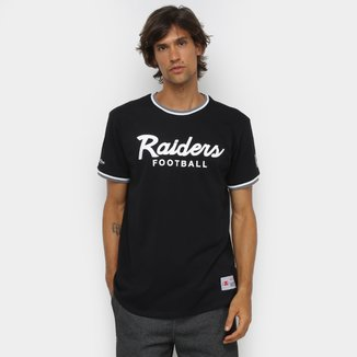Camiseta NFL Las Vegas Raiders Mitchell & Ness Especial Masculina
