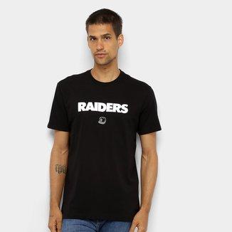 Camiseta NFL Las Vegas Raiders New Era 90s Continues Masculina