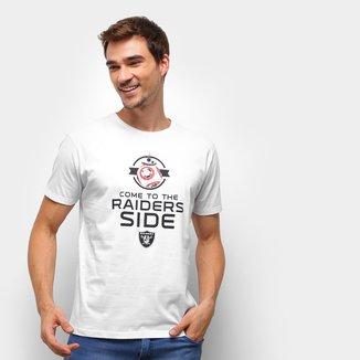 Camiseta NFL Las Vegas Raiders Side Star Wars Masculina