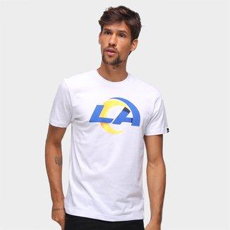 Camiseta NFL Los Angeles Rams New Era Basic Time Masculina