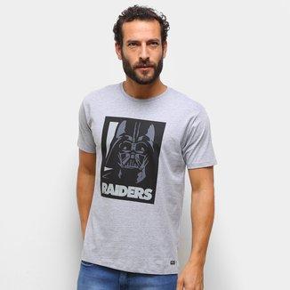 Camiseta NFL  Raiders Darth Star Wars Masculina