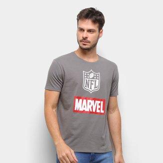Camiseta NFL Shield Marvel Masculina