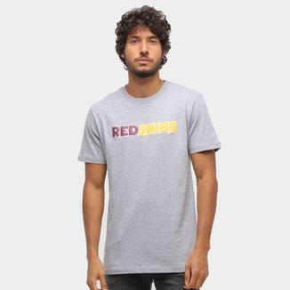 Camiseta NFL Washington Football Team New Era Under Dance Color Masculina