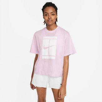 Camiseta Nike Court SSNL Feminina