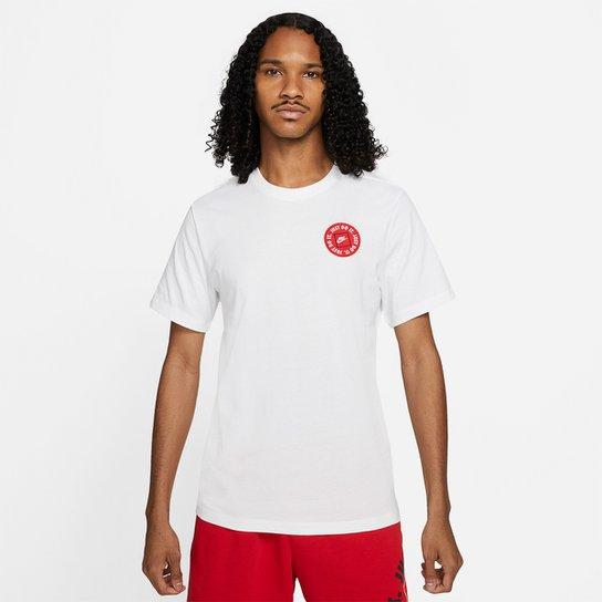 Camiseta Nike Sportwear Just Do It Lbr 2 Masculina - Branco