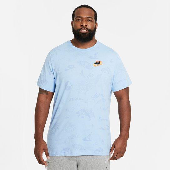Camiseta Nike Spring I Br Masculina - Azul