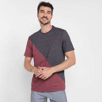 Camiseta Oakley Bark Block Masculina