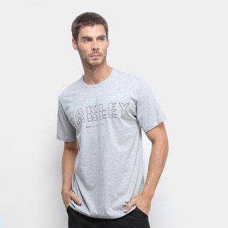 Camiseta Oakley Mod Bark Lines Masculina