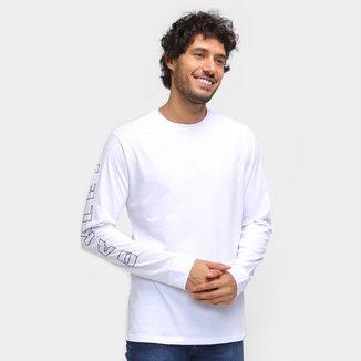 Camiseta Oakley Multi Bark Manga Longa Masculina