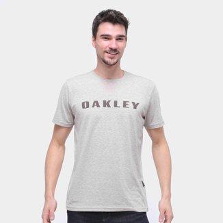 Camiseta Oakley O-Rec Bark Masculina