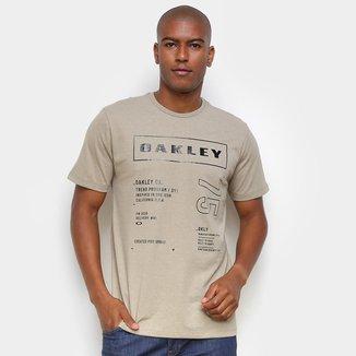 Camiseta Oakley Super Branded Exposure Masculina